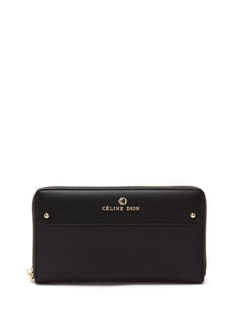 CÉLINE DION -  Presto Long Wallet, Black, hi-res