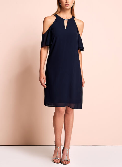 Vince Camuto - Cold Shoulder Dress
