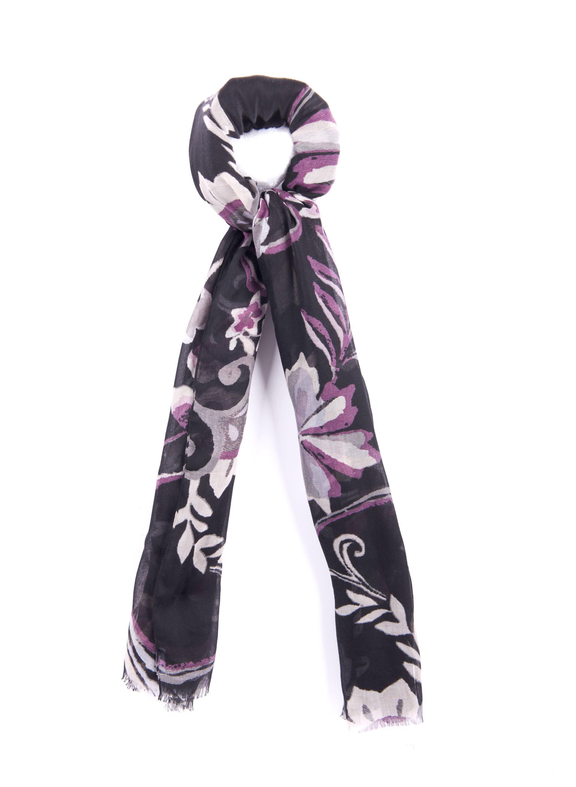 floral print wrap scarf free shipping melanie lyne