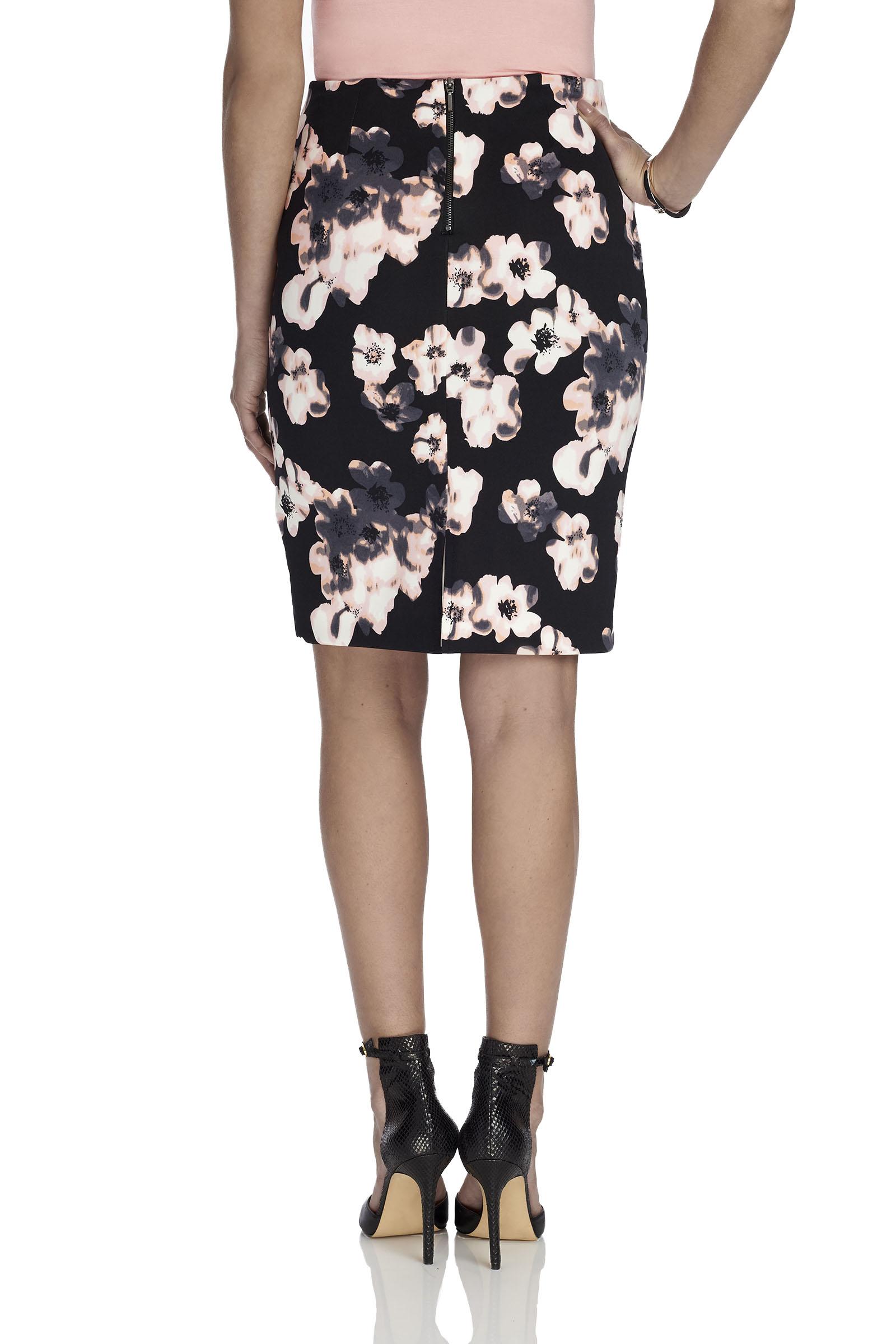 trisisto floral print pencil skirt free shipping