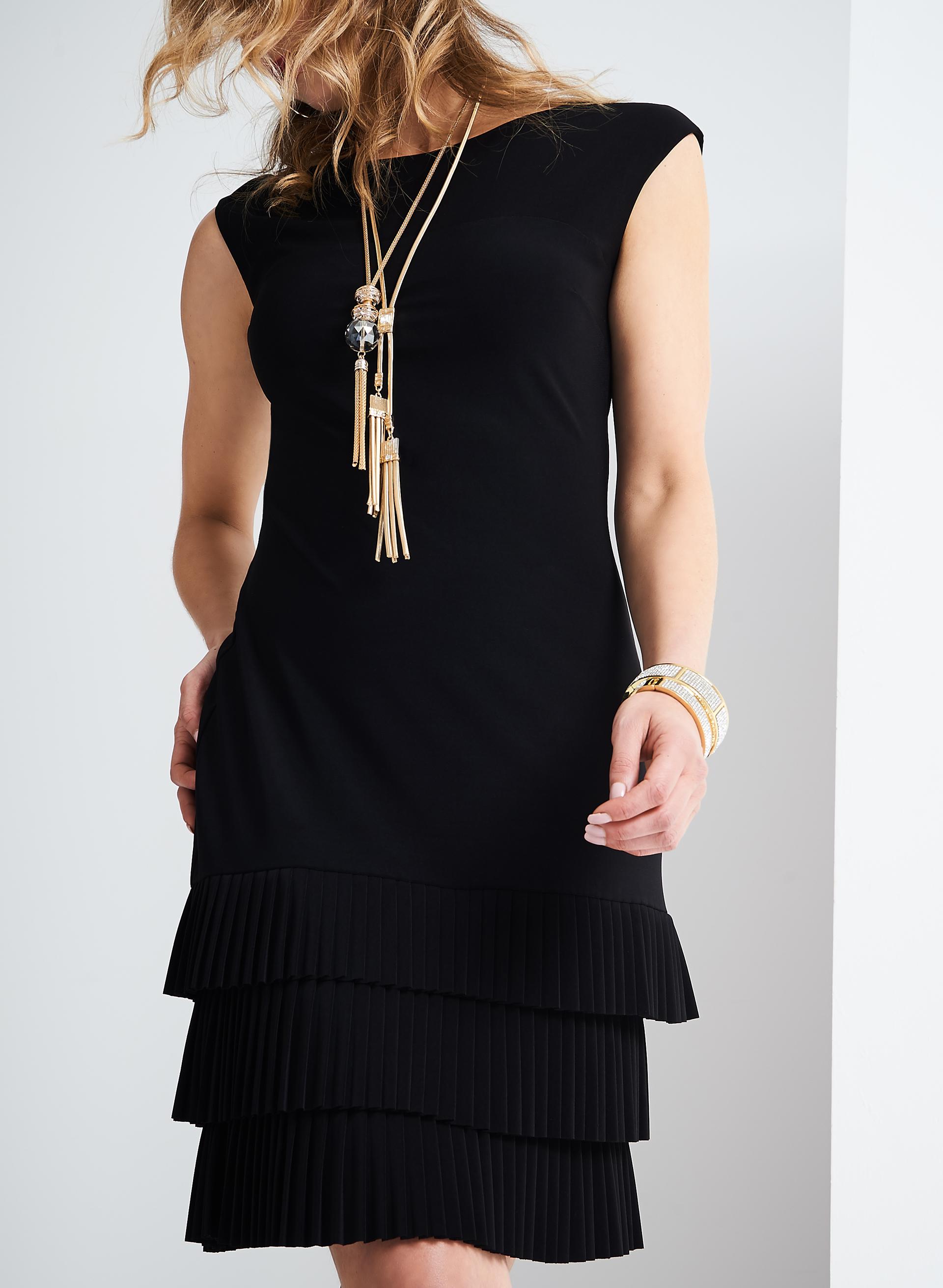 frank lyman jersey fringe dress free shipping melanie. Black Bedroom Furniture Sets. Home Design Ideas