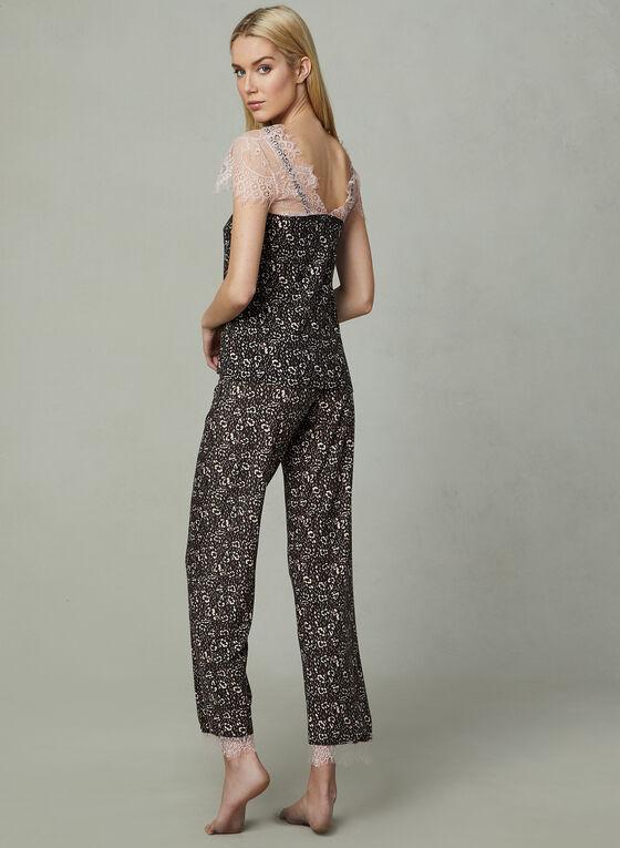 Nanette Lepore - Leopard Print Pyjamas, Pink, hi-res