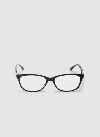 Lunettes de lecture rectangulaires, Noir, hi-res,  lunettes de lecture, rectangle, époxy, automne hiver 2019