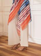Joseph Ribkoff - Pants & Watercolour Print Dress, White