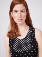 Kathy Ireland - Chemise de nuit sans manches, Noir, hi-res