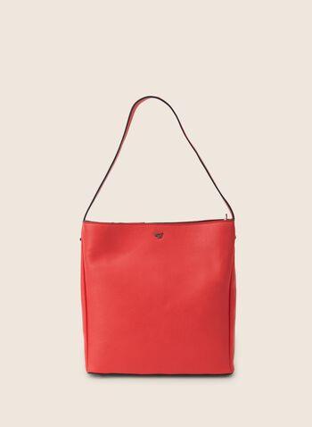 Sac à main coloré avec poignée, Orange,  printemps été 2020, sac, sac à main, poignée, bandoulière, accessoire