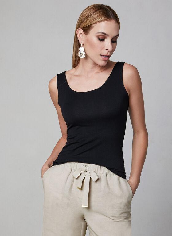 Alison Sheri - Haut sans manches basique, Noir, hi-res