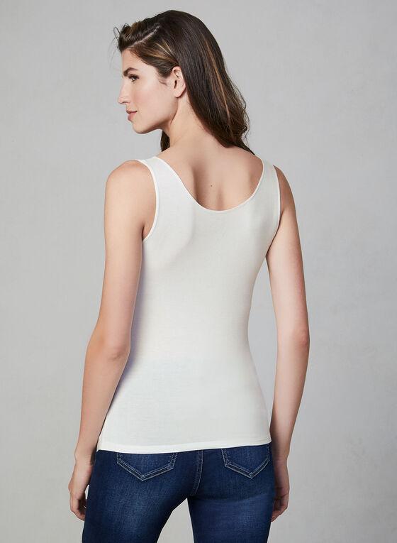 Alison Sheri - Sleeveless Camisole, White