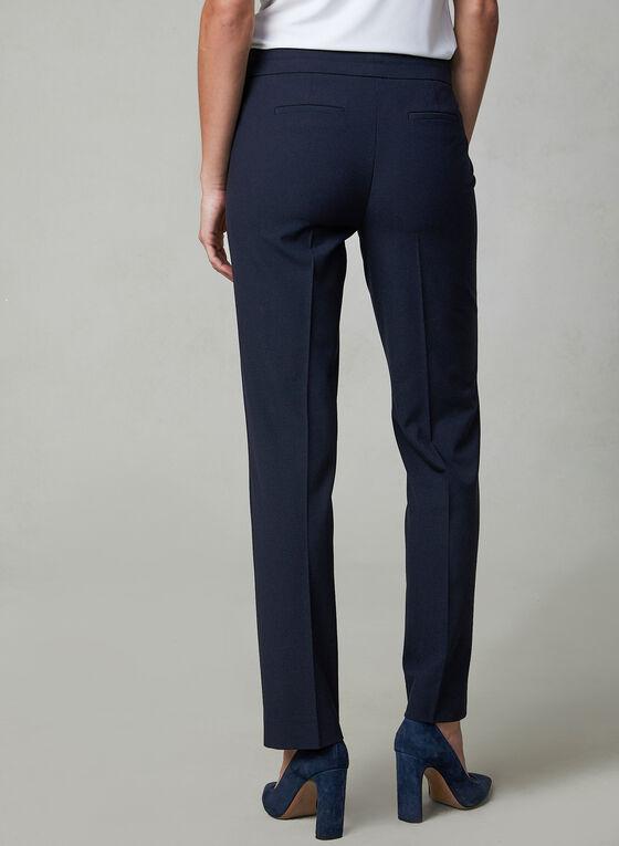 Pantalon Lauren Petites à jambe droite, Bleu