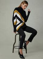 Conrad C - Pull en tricot à manches dolman, Noir, hi-res