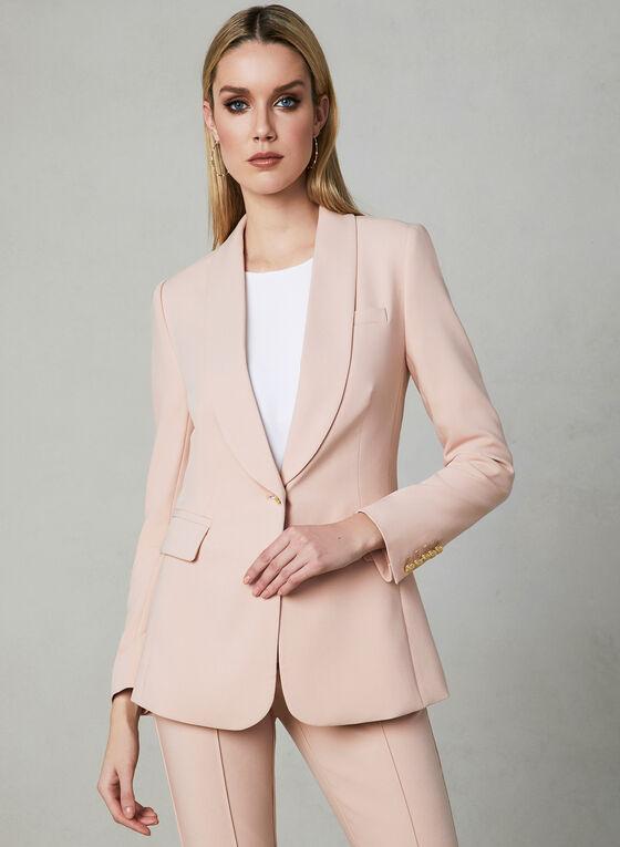 Shawl Collar Blazer, Pink