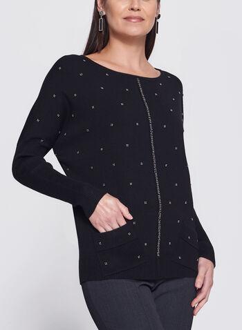 Vex - Beaded Dolman Sleeve Sweater, , hi-res