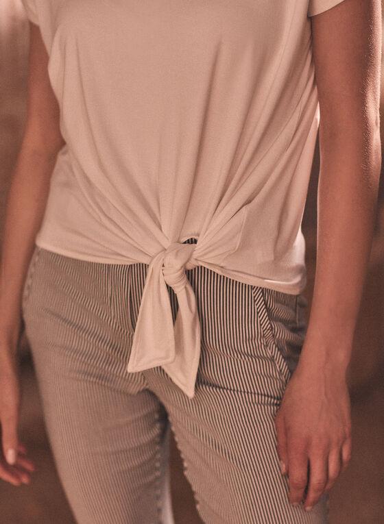 Tie Detail Top, Off White