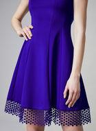 Donna Ricco - Fit & Flare Dress, Blue, hi-res