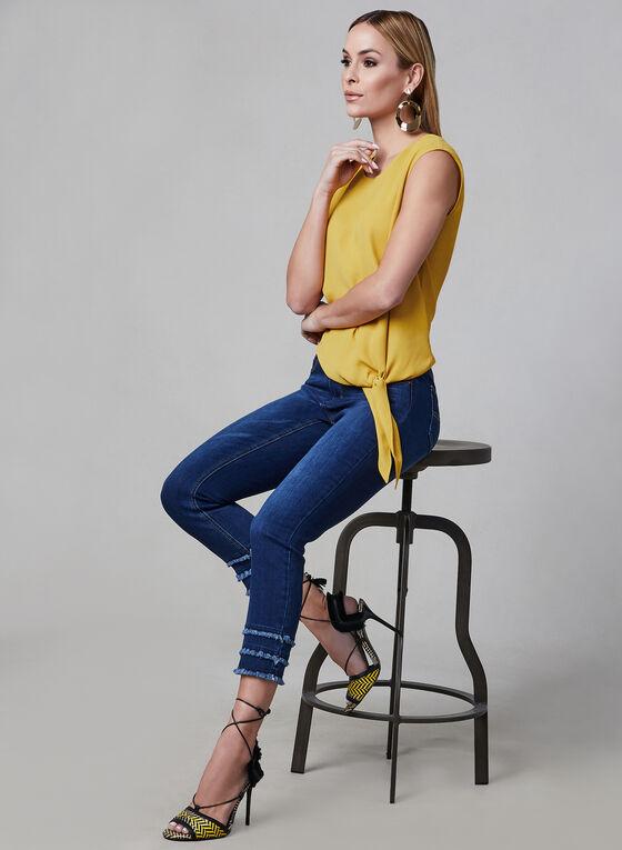 Charlie B - Capri Jeans, Blue
