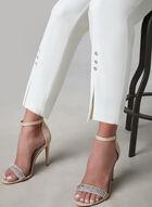 Frank Lyman - Slim Leg Ankle Pants, Off White, hi-res