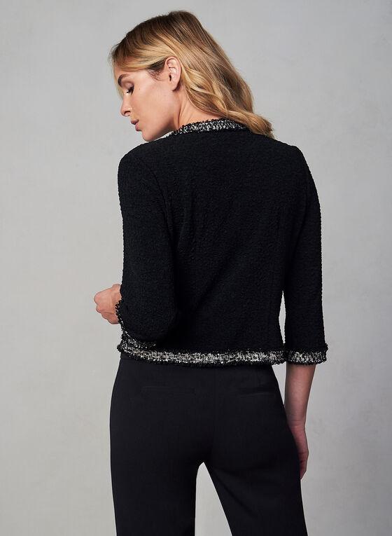 Joseph Ribkoff - Short Knit Jacket, Black