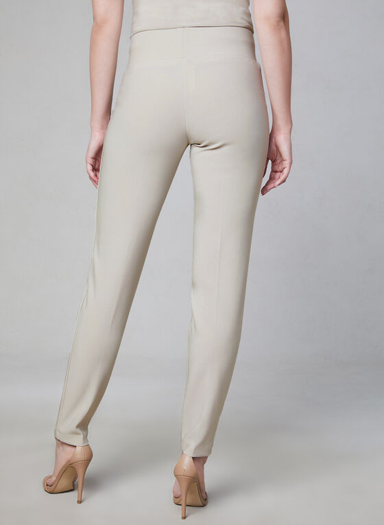 Frank Lyman - Pantalon pull-on à jambe étroite, Blanc cassé, hi-res