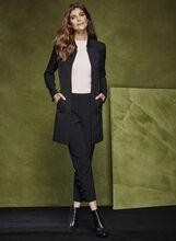 Long Notch Collar Jacket, Black, hi-res