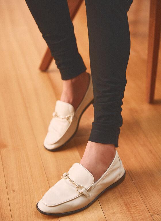 Legging pull-on froncé , Noir