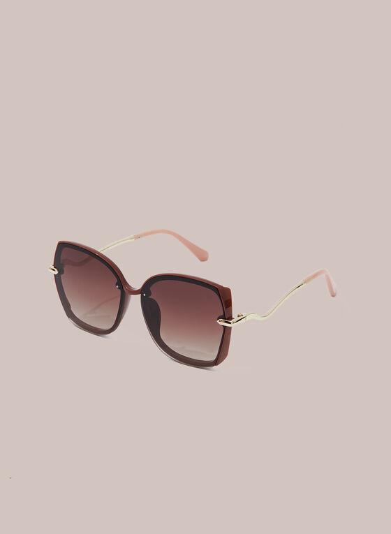 Polarized Butterfly Sunglasses, Orange