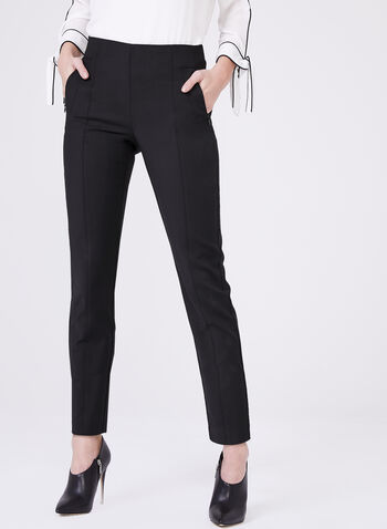 Amber Ankle Length Pants, Black, hi-res