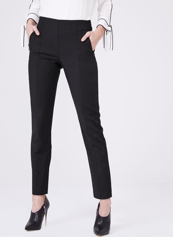Pantalon Amber longueur cheville, Noir, hi-res