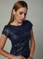 Vince Camuto - Sequin Dress, Blue, hi-res