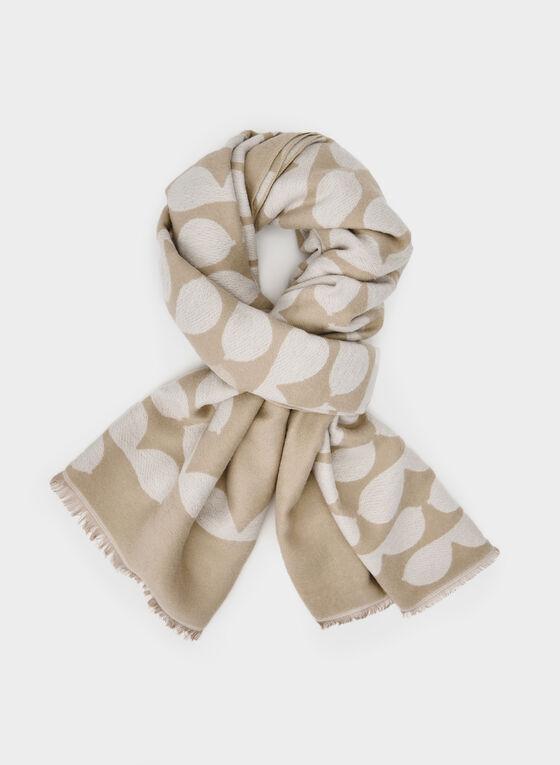 Karl Lagerfeld Paris - Blanket Scarf, Brown