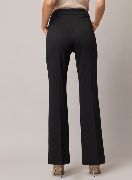 Flare Leg Pants, Black