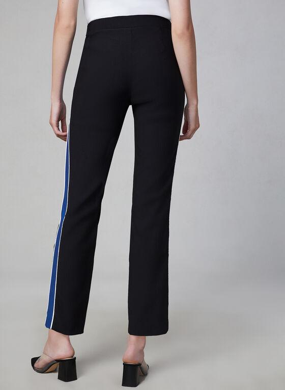 Pull-On Bengaline Pants, Black, hi-res