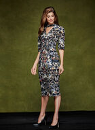Maggy London - Abstract Print Dress, Multi, hi-res