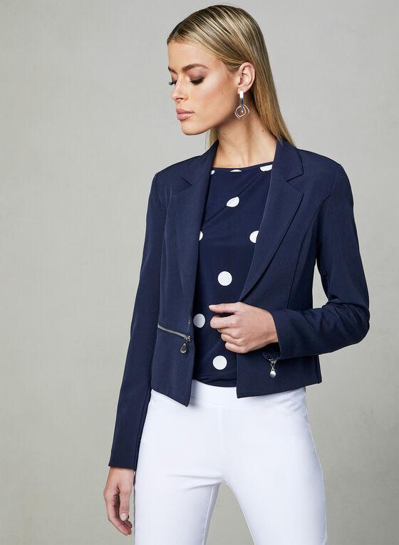 Vex - Open-Front Jacket, Blue, hi-res