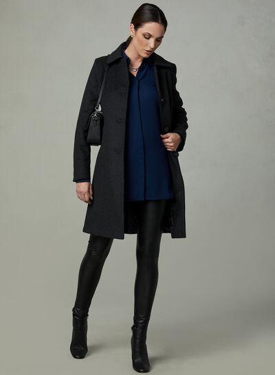 Anne Klein - Cashmere Blend Coat