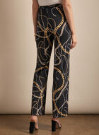 Frank Lyman - Chain Motif Pants, Black