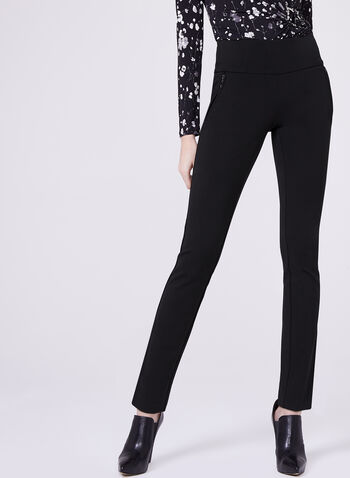 Pantalon pull-on Madison à jambe étroite, , hi-res