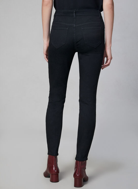 Jeans réversible à jambe étroite, Noir, hi-res