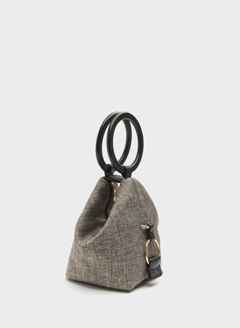 Céline Dion - Canvas Mini Bucket Bag, Black, hi-res