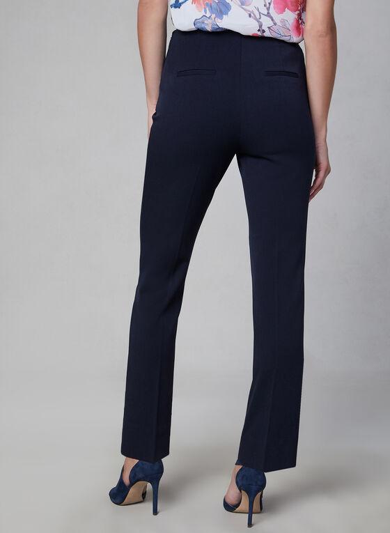 Amber Fit Slim Leg Pants, Blue