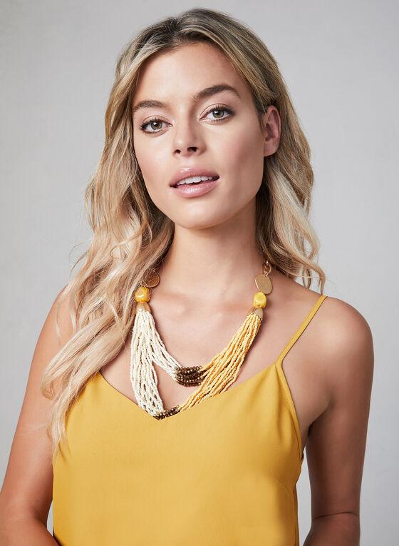 Spaghetti Strap Camisole, Gold