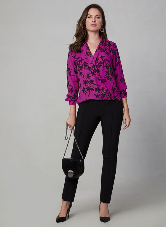 Vince Camuto - Floral Blouse, Red