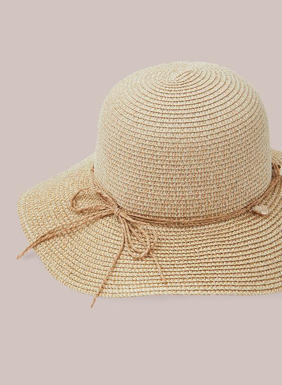 Paper Straw Hat , Brown