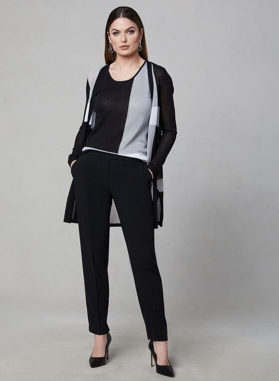 Elena Wang - Sleeveless Top, Black, hi-res