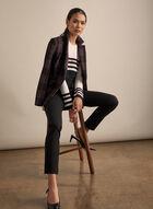 Madison Slim Leg Pants , Black