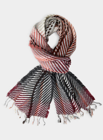 Plaid Blanket Scarf, Pink,  scarf, plaid print scarf, print, plaid print, blanket scarf, fall 2019, winter 2019