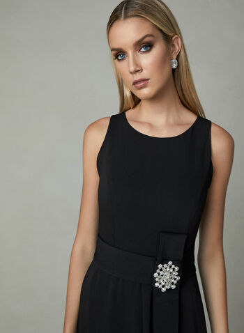 Frank Lyman - High Low Dress, Black, hi-res