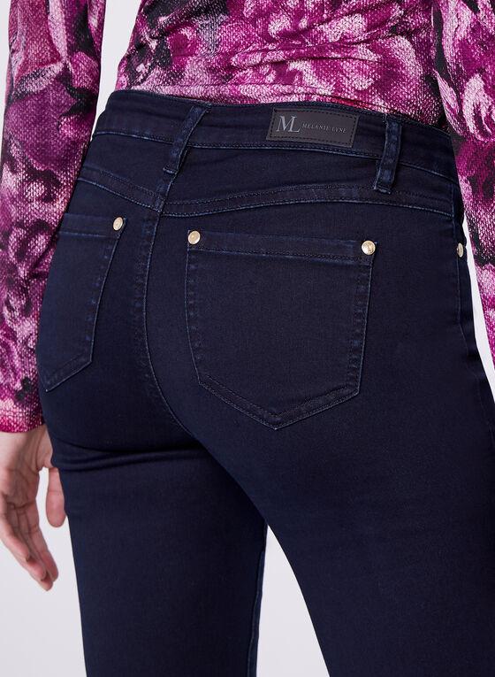 Super Soft Straight Leg Jeans, Blue, hi-res