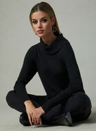 Conrad C - Knit Tunic Top, Black, hi-res