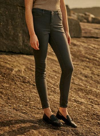 Jeans réversible à jambe étroite , Noir,  automne hiver 2020, jeans, réversible, jambe étroite