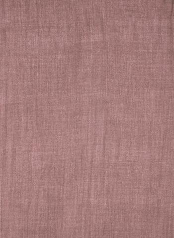 Foulard pashmina à franges, Violet,  foulard, pashmina, franges, automne hiver 2019